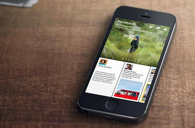 Facebook's Paper news-reading app to shut down next month