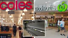 Coles and Woolworths reintroduce buying limits as panic buying ramps up