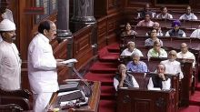 RS Chairman Naidu unhappy over frequent disruptions, washouts