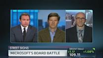 Microsoft's board battle