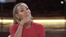 Jada Pinkett Smith fights back tears interviewing Robyn Crawford