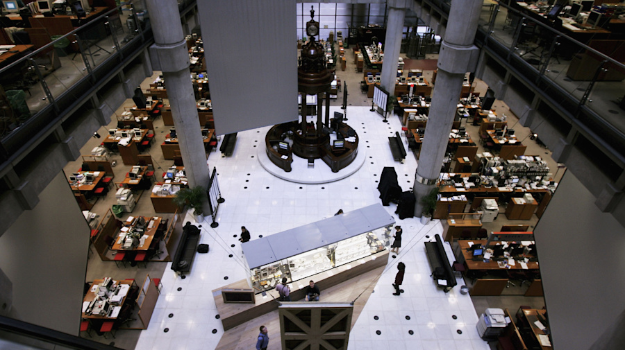 Lloyd's of London staff told to behave at Christmas parties
