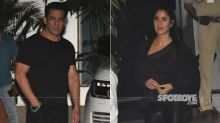 Salman Khan-Katrina Kaif Twin In Black As They Return From Bangladesh