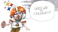 Mayfield and Browns get up off Steelers' canvas for rematch with Bengals: Crowquill