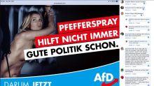 Wahlplakat der AfD Sachsen erntet auch bei Anhängern Kritik