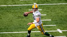 If you think Aaron Rodgers is done, don't watch these ridiculous TD throws