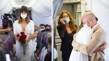 Melbourne couple marry mid-air on Virgin flight