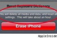 iPhone 2.0 to include secure erase