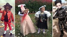 22 children who bossed their Halloween costumes