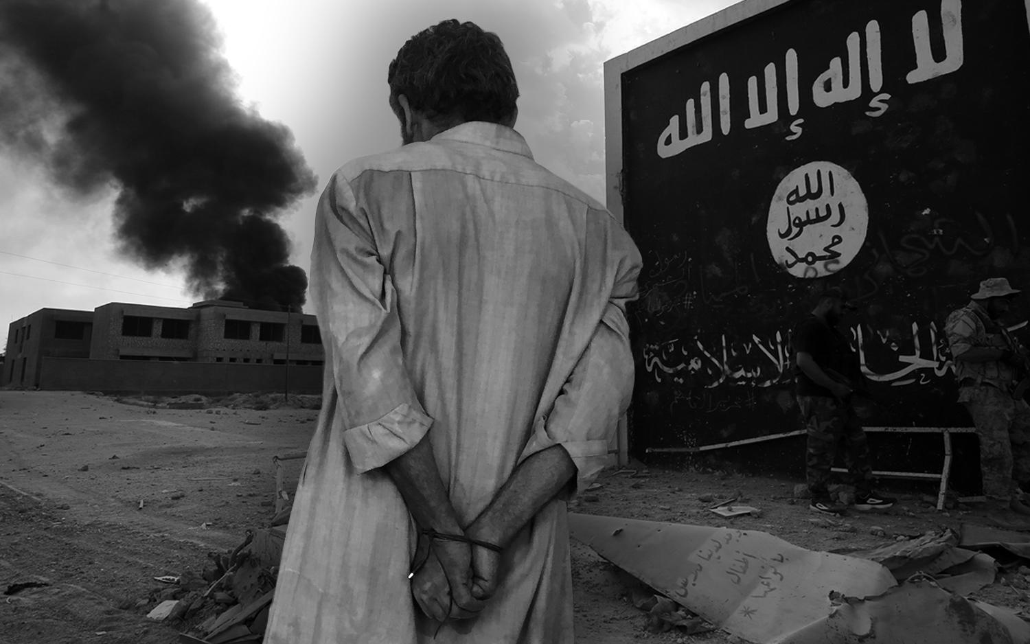 For captured ISIS fighters in Iraq, justice is swift and conviction certain