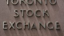 TSX futures edge lower as gold prices ease