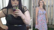 Aussie mum unrecognisable after losing an incredible 60kg