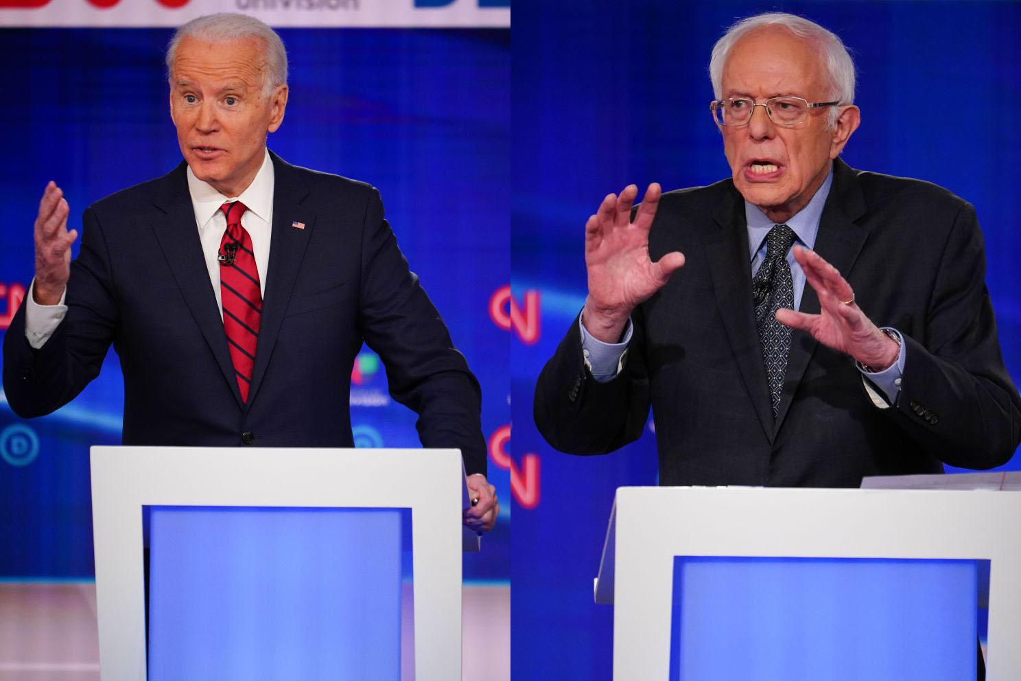 "Joe Biden says ""we've had enough debates"""