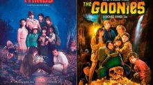 ¡Qué nostalgia! Stranger Things rinde homenaje a Los Goonies y otros clásicos con carteles increíbles