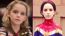 ¿De qué te suena la niña de Capitana Marvel?