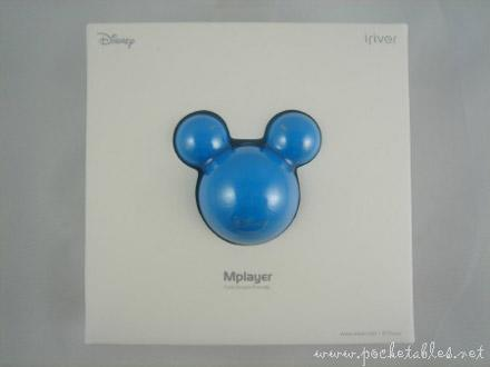 iRiver's Mickey Mouse Mplayer gets unboxed, reviewed