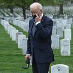Biden Visits Arlington Cemetery After Afghanistan Withdrawal Speech