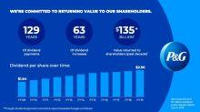P&G Declares Quarterly Dividend
