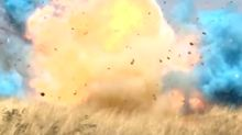 Explosive Gender-Reveal Stunt That Sparked Massive Wildfire Caught On Camera