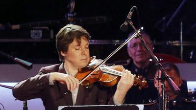 Joshua Bell and His Famous Friends Get Festive