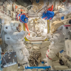 Explore the International Space Station—with Google Street View