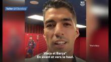 Foot - ESP - Barça : Le message de Luis Suarez aux supporters
