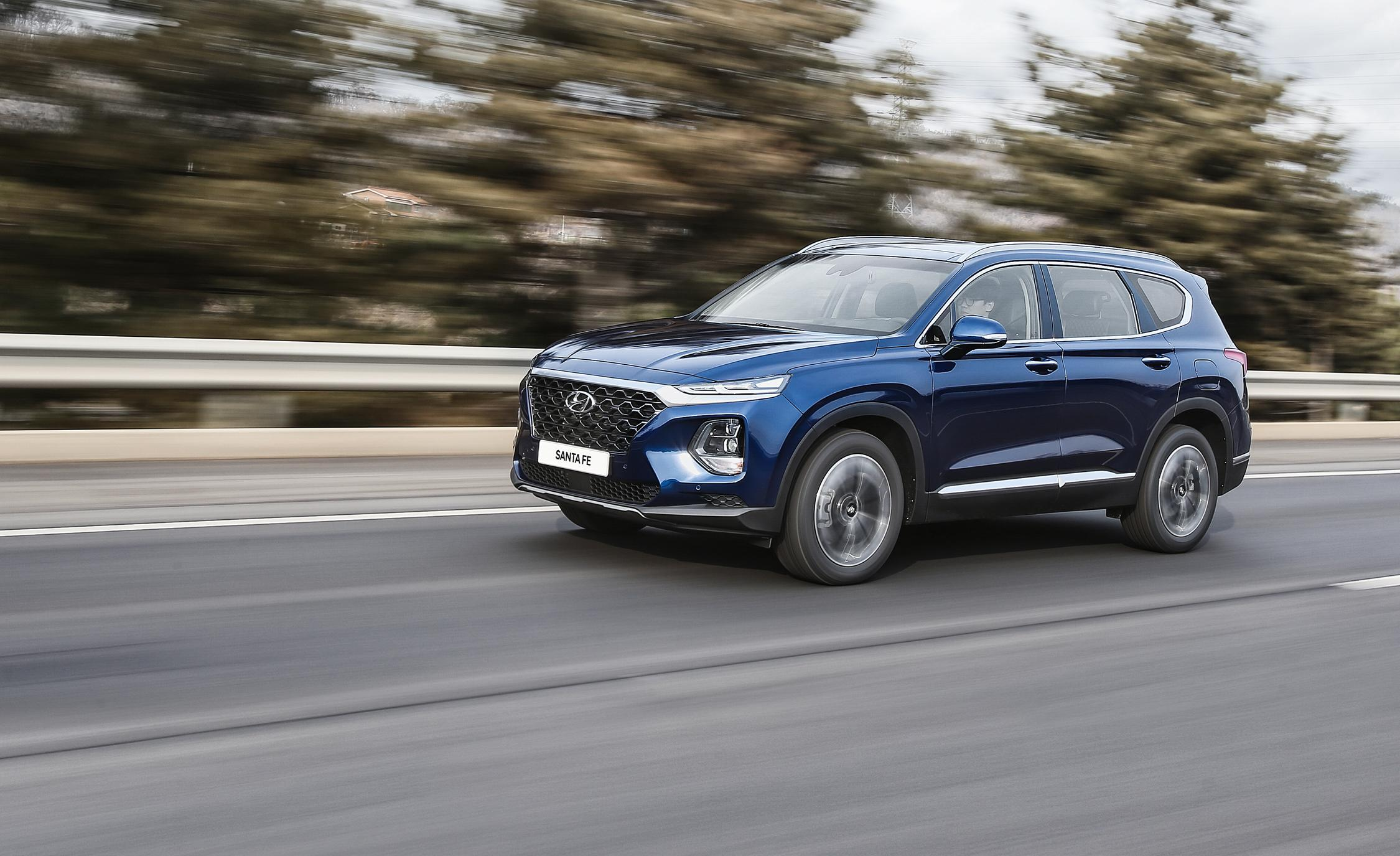Hyundai Santa Fe Review Car And Driver