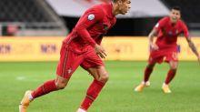 Foot - L. Nations - POR - Cristiano Ronaldo atteint la barre des cent buts avec le Portugal