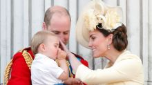 What can parents, like the Duke and Duchess of Cambridge, do to stop thumb sucking?