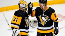 Penguins beat Sabres 1-0, win East title hours later