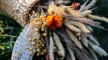 Dried flowers are the new interior trend you need to know about