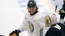 PHT Morning Skate: Pastrnak 'ahead of schedule'; Hughes' strong start