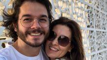 """Fátima Bernardes se declara a Túlio Gadêlha: """"O melhor presente"""""""