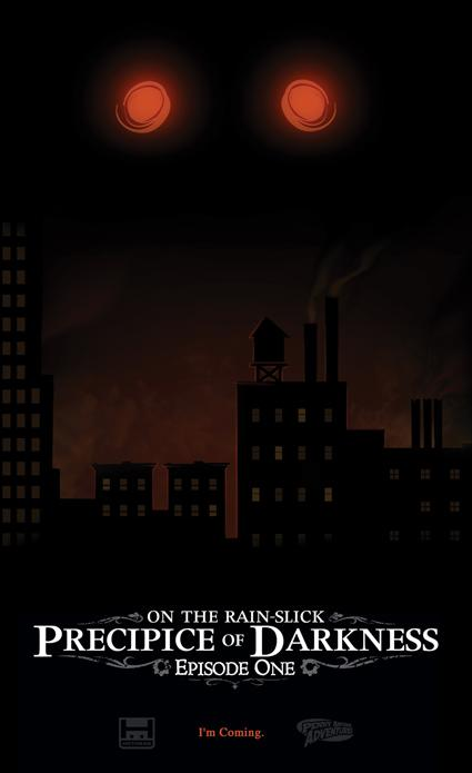First Art of new Penny Arcade game: On the Rain-Slick Precipice of Darkness