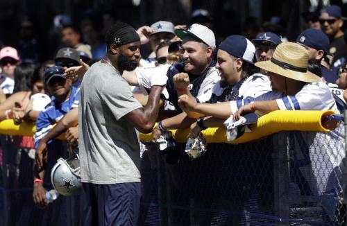 Raiders-Cowboys practice gets heated