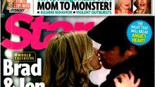 "¿Brad Pitt y Jennifer Aniston pillados ""in fraganti"" besándose?"