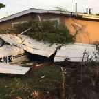 Small plane crashes into house in San Jose, injuring 3