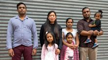 Refugee family who helped Snowden still await entry to Canada