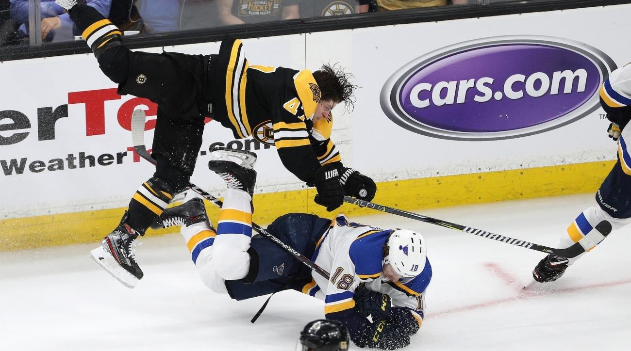 Tuesday S Hot Clicks This Torey Krug Shift Is Stanley Cup Finals Hockey At Its Finest