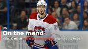 Canadiens' Phillip Danault released from hospital