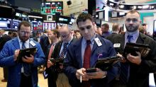 Stocks fall as U.S. yields rise, commodities tumble
