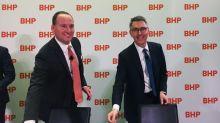 BHP's Henry signals new technology a focus in first speech