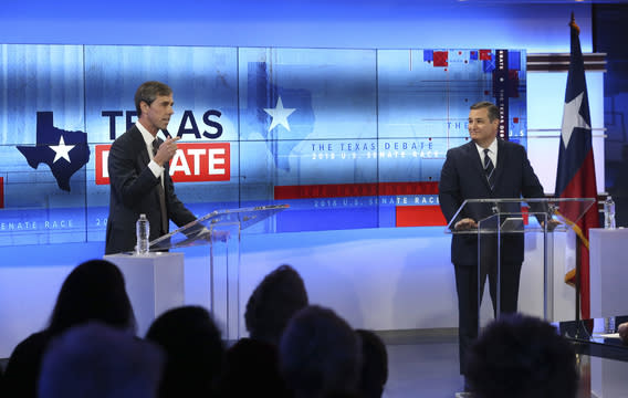 Ted Cruz vs. Beto O'Rourke: Texas Senate candidates clash in debate