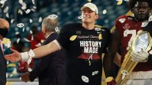 Mac Jones: Not comparing myself to Tom Brady, but I want to emulate his competitiveness