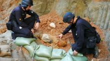 Unexploded World War II bomb defused by Hong Kong police