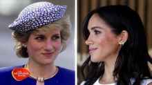 Meghan's touching tributes to Princess Diana