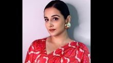 Vidya Balan Says She Used To Be Very Unkind To Herself; Has Been Working With A Healer For Years