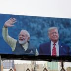 Trump heads to India eyeing trade deal as re-election trophy