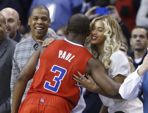 Beyoncé might follow Chris Paul to the Houston Rockets. (AP)