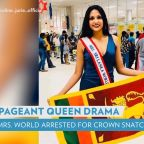 Mrs. World Arrested After Grabbing Newly Crowned Mrs. Sri Lanka's Tiara Off Head, Allegedly Injuring Her